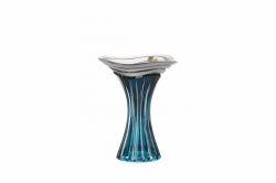 Lead Crystal Vase Dune