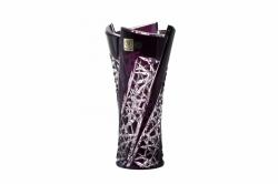 Bleikristall-Vase Fan