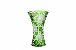 Bleikristall-Vase Flake
