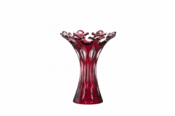 Lead Crystal Vase Flamenco