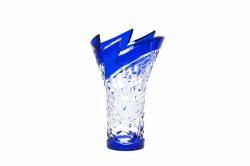 Bleikristall-Vase Neptune