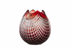 Bleikristall-Vase Quadrus