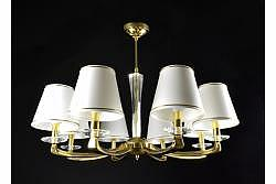 Chandelier Helios 8 Gold
