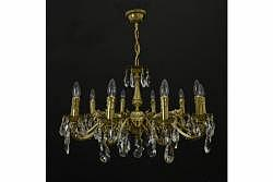 Chandelier Arrakis 10 Gold