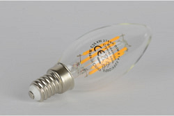 LED Filament 4W, E14, dimmable Candle