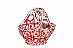 Bleikristall-Korb Petra